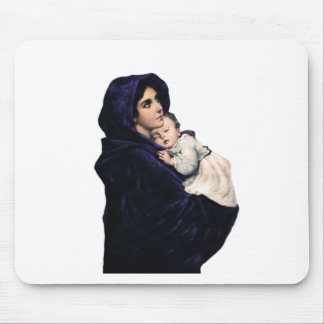 Madonnina Madonna of the Streets Mouse Pad