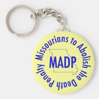 MADP keychain, yellow Keychain