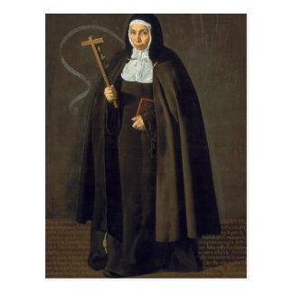 Madre Maria Jeronima de la Fuente, 1620 Postcard