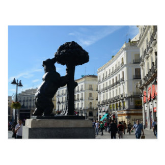 Madrid 2014 Calendar Postcard