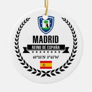 Madrid Ceramic Ornament