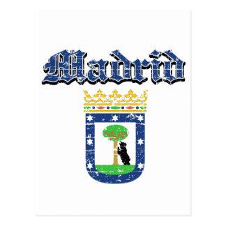 Madrid City Designs Postcard