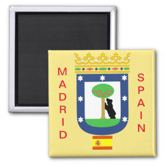 Madrid Coat of Arms Magnet