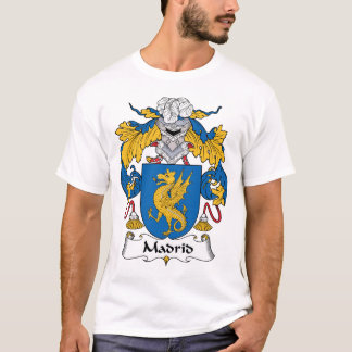 Madrid Family Crest T-Shirt