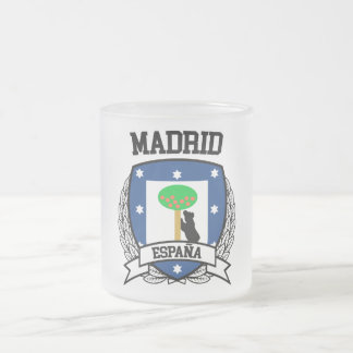 Madrid Frosted Glass Coffee Mug