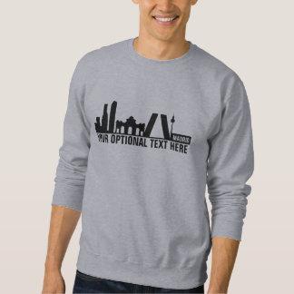 Madrid Landmarks custom text shirts & jackets