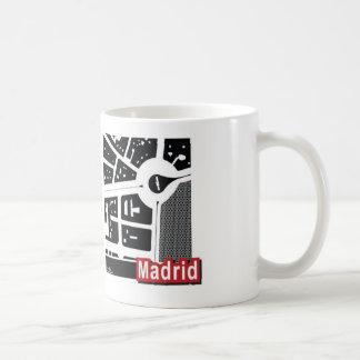 Madrid map Mug
