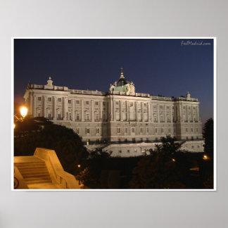Madrid Royal Palace Poster