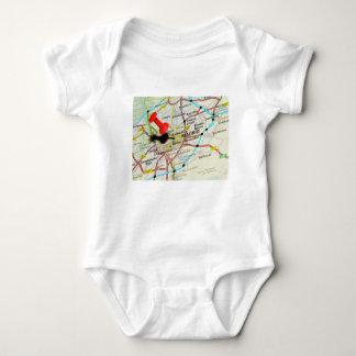 Madrid, Spain Baby Bodysuit