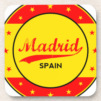 Madrid, Spain, circle, red Coaster