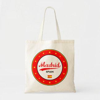 Madrid, Spain, circle, white Tote Bag