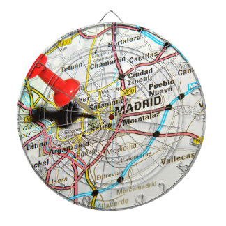 Madrid, Spain Dartboard