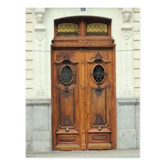 Madrid, Spain Doors - Postcard