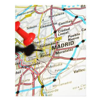 Madrid, Spain Letterhead