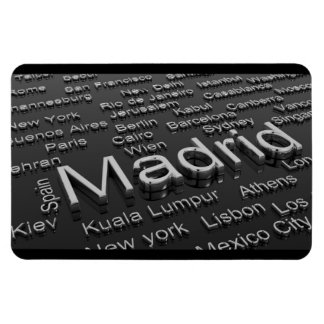 Madrid, Spain Magnet