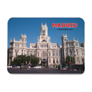 Madrid Spain Magnet