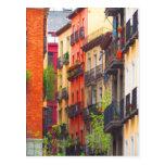 Madrid, Spain Neighbourhood Postcard