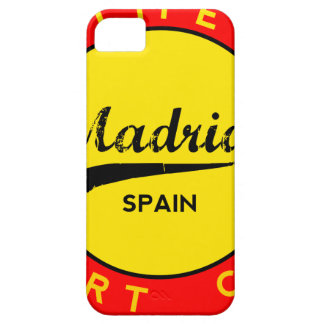 Madrid, Spain, red circle, art Case For The iPhone 5