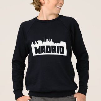 Madrid Spain Skyline Sweatshirt