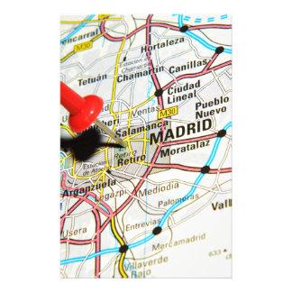 Madrid, Spain Stationery