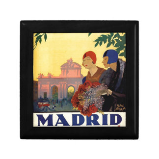 Madrid Temporada de Primavera - Vintage Art Poster Gift Box