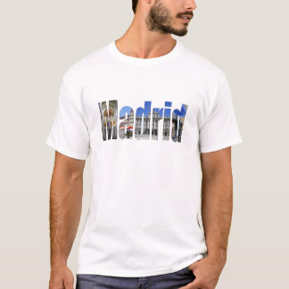 Madrid tourist attractions T-Shirt