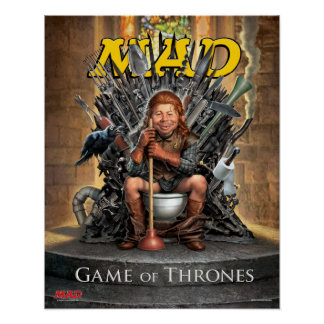 MAD's Game of Thrones Satire Poster