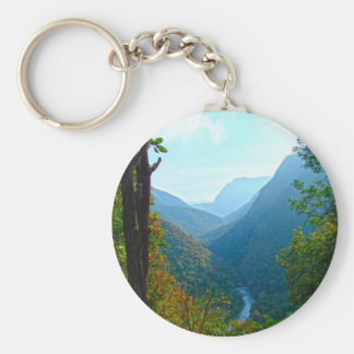 Mae Hong Son Basic Round Button Keychain
