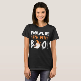 Mae Is My Boo Happy Halloween T-Shirt