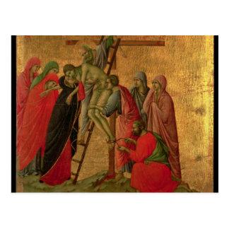 Maesta: Descent from the Cross, 1308-11 Postcard