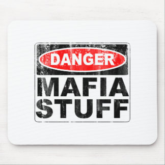 Mafia Stuff Mouse Pad
