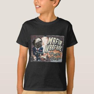 Mafia Warfare Pugsy Beigel by Mudge Studios T-Shirt