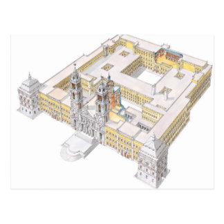 Mafra National Palace. Lisboa Portugal Postcard