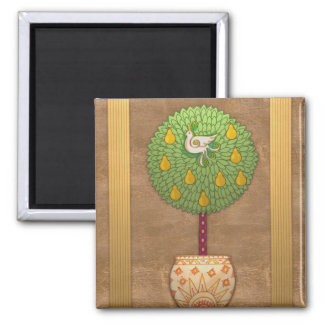 MAG009 Partridge in a Pear Tree Magnet