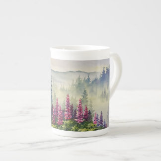 Mag - Lupines in Summer Fog Tea Cup