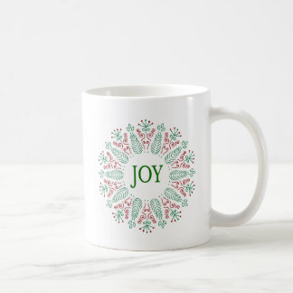 Mag with Christmas Round design Coffee Mug