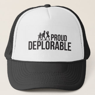 MAGA Proud Deplorable Make America Great Again Trucker Hat