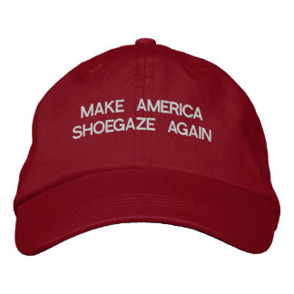MAGA SHOEGAZE EMBROIDERED HAT