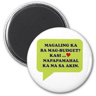 Magaling Ka ba Magbudget 2 Inch Round Magnet