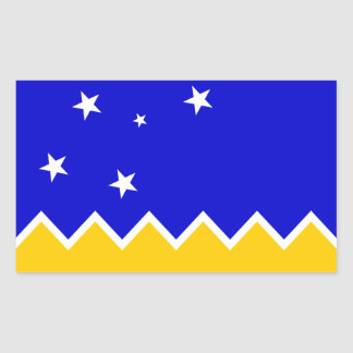 Magallanes Patagonia/Patagonian Flag. Chile Sticker
