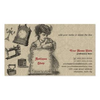 Magasin d'antiquités/brocanteur/art vintage cartes de visite personnelles