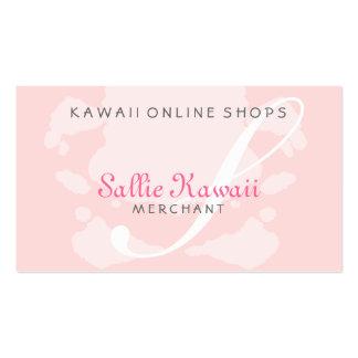 Magasins de S Kawaii Cartes De Visite Professionnelles