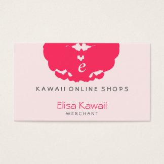 Magasins de tache d'E Kawaii Cartes De Visite