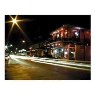 Magazine Street at Night Postcard