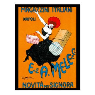 Magazzini Italiani, E. & A. Mele & Ci. 1904 Postcard