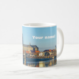 Magdeburg Cathedral with river Elbe 01.2(P) Coffee Mug