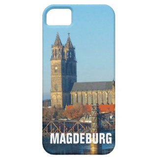 Magdeburg Cathedral with river Elbe 01.2.T iPhone 5 Cases