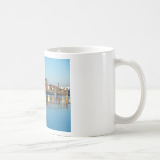 Magdeburg Cathedral with river Elbe 01 Coffee Mug