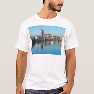 Magdeburg Cathedral with river Elbe 01 T-Shirt