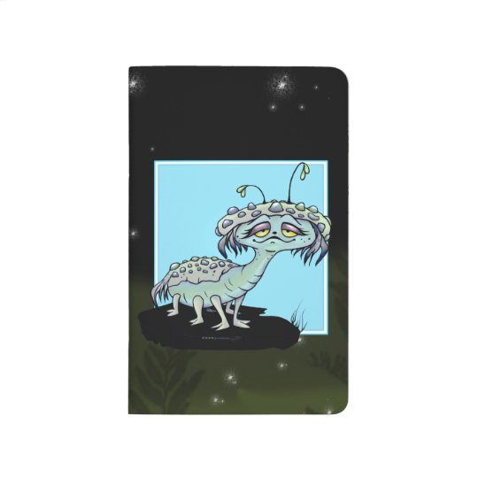 MAGE ALIEN MONSTER CARTOON Pocket Journal
